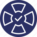 accepted, approved, checkmark, tick, verified icon