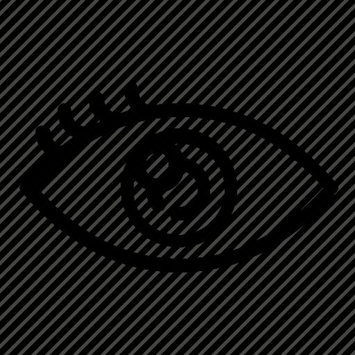eye, healthcare, vision icon