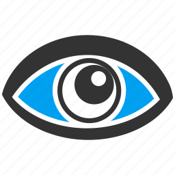 eye, eyeball, look, see, view, vision, watch icon