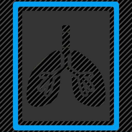 analysis, anatomy, fluorography, lungs, medicine, organ, respiratory icon