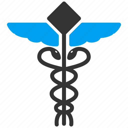 caduceus, clinic, health, healthcare, medic, medical embleme, medicine icon