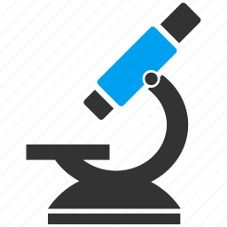 equipment, lab, laboratory, magnifier, magnify, microscope, science icon