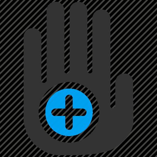 aim, bullseye, goal, marketing, palm, target, targeting icon