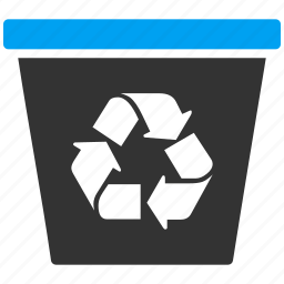 can, clear, delete, empty, garbage, recycle, trash icon