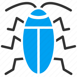 bug, cockroach, insect, nature, parasite, pest, security icon