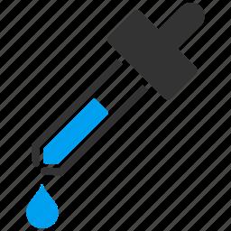 drop, drops, eye dropper, eyedropper, pick, picker, pipette icon