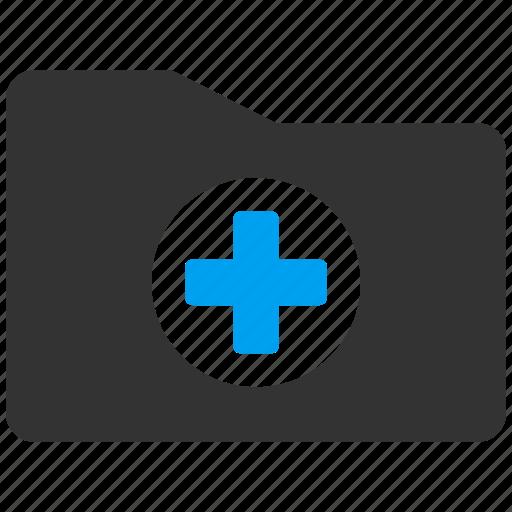 clinic, files, folder, health care, healthcare, medical, medicine icon