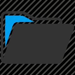 catalog, close, directory, document, files, folder, open file icon