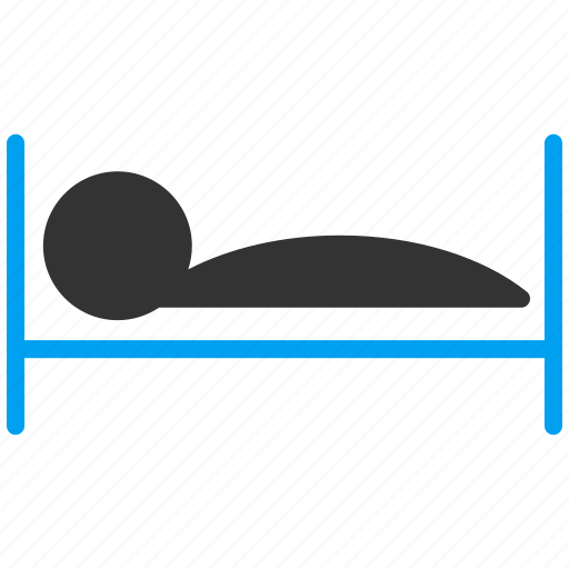 bed, clinic, hospital, hostel, hotel, patient, sleep icon
