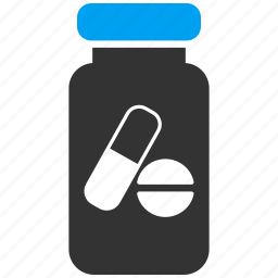 drug, drugs, medical, medicament, pharmacy, pill, vial icon