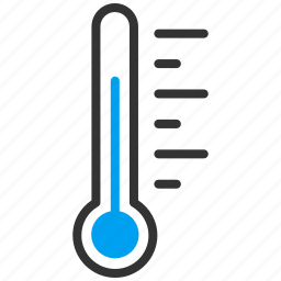 forecast, level, meter, temperature, thermometer, value, weather icon