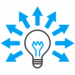 bulb, electric, energy, lamp, light, power, ultraviolet icon