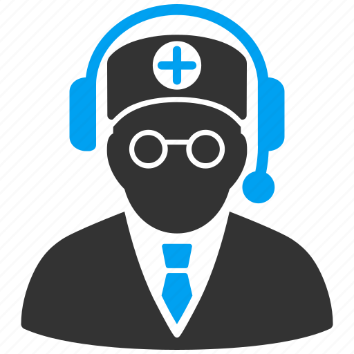 call center, emergency service, help desk, hotline number, medic, phone operator, support chat icon