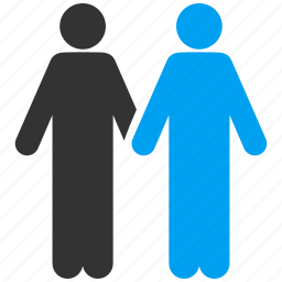 couple, dating, gay, men, pair, people, social connection icon