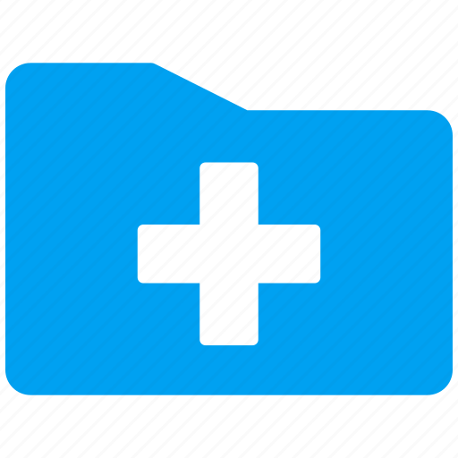 archive, directory, document, file, files, library, medical folder icon