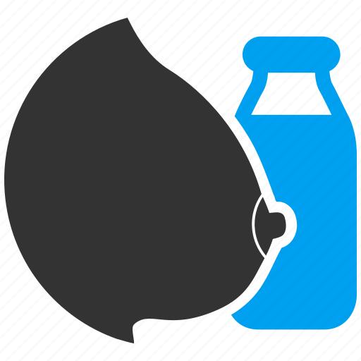 baby, bottle, feed, feeding, mother, natural milk, tit icon