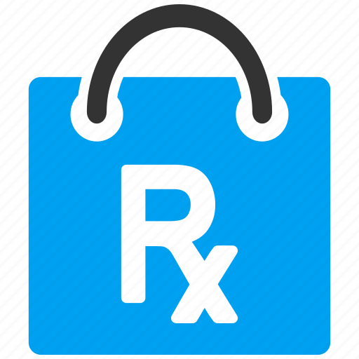 bag, drugs, package, pharmacy, prescription, receipt, shopping icon