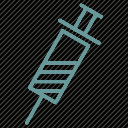 healthcare, medical, medicine, syringe icon