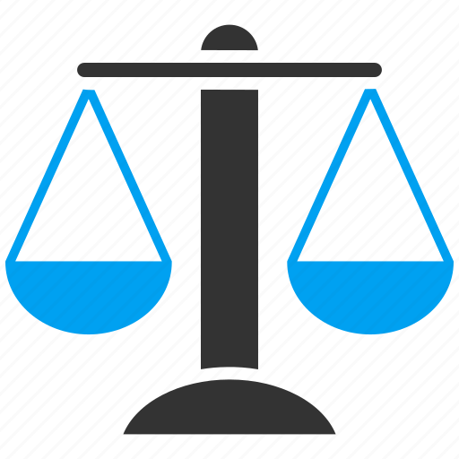 balance, justice, law, measure, measurement, scales, weight icon