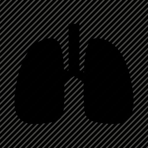 anatomy, breath, healthcare, lungs, organ icon