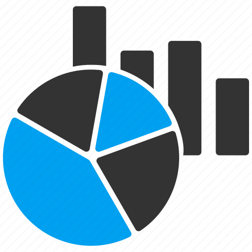 analysis, analytics, diagram, graphs, pie chart, report, statistics icon