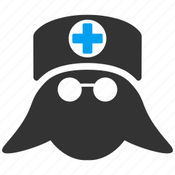 doctor, head, health, healthcare, hospital nurse, medical, medicine icon