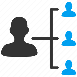 communication, connections, links, network, patient, relatives, structure icon