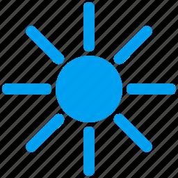 brightness, radiation, solar, solarium, summer, sun, sunny icon