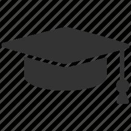 cap, college, degree, education, graduation hat, knowledge, university icon