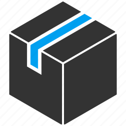 box, closed, item, pack, package, product, shipping icon