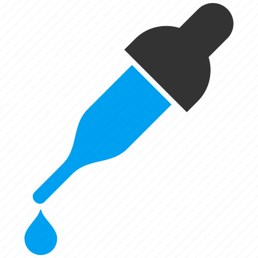 dropper, eyedropper, pick, picker, pipette, test, tool icon