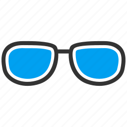 eyeglasses, glasses, optics, spectacles, sunglasses, view, vision icon