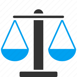 balance, justice, law, measure, scale, scales, weight icon