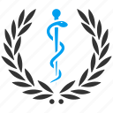 achievement, award, honor, medical embleme, prize, reward, win icon