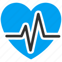 cardiology, health, healthcare, heart, heartbeat, medicine, pulse icon