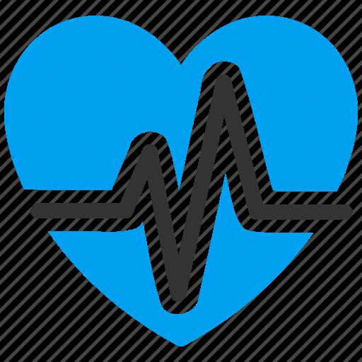 cardiology, health, healthcare, heart, heartbeat, medicine, pulse icon