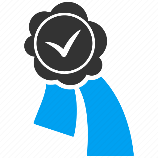 achievement, award, certificate, certification, medal, prize, proof icon