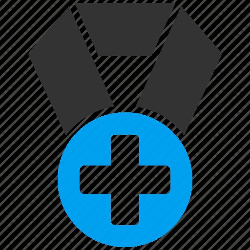 achievement, award, badge, cross, medal, reward, winner icon