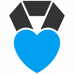 award, favorite, favourite, heart, love, medal, valentine icon