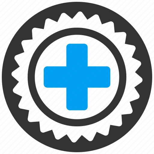 Certification Health Hospital Medical Medicine Seal Stamp Icon