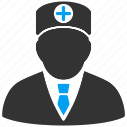 doctor, first aid man, medic, official, orderly, paramedic, physician icon
