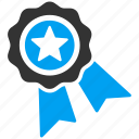 achievement, award, badge, prize, quality, seal, winner icon