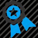 achievement, award, badge, prize, quality, seal, winner icon