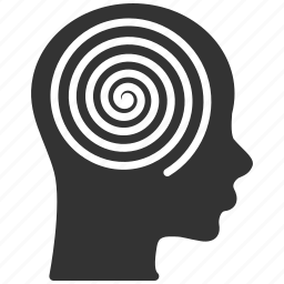 mental, patient, psychiatry, psychology, psychotherapy, spiral, therapy icon