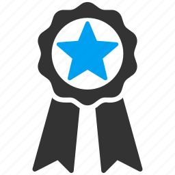achievement, award, badge, medal, prize, quality, sign icon
