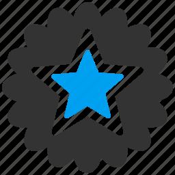 achievement, award, badge, favorite, prize, star, win icon