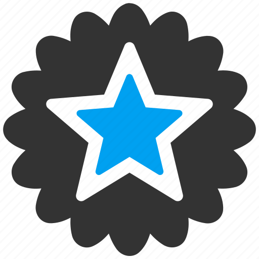 achievement, award, badge, favorite, prize, star, win icon