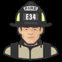 asian, coronavirus, firefighter, male