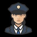 asian, coronavirus, female, police