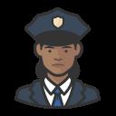 female, police